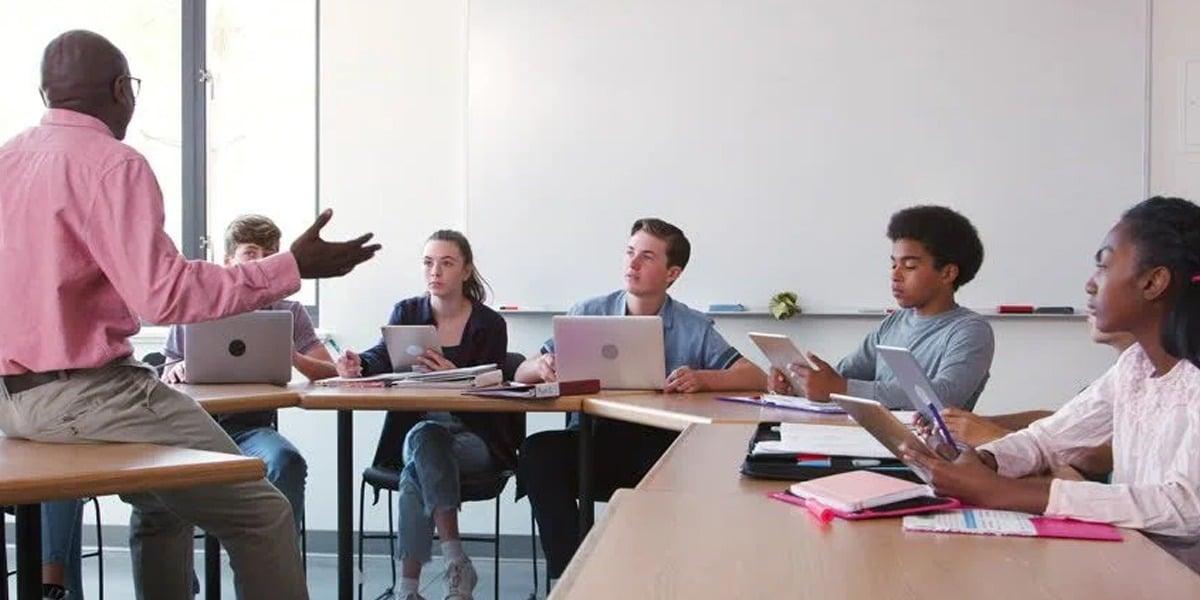 Professores mais produtivos na sua gestão escolar